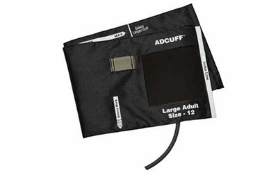 American Diagnostic Corporation ADC Adcuff 845 Series Large Adult Black Cuff & Bladder, 1 Tube