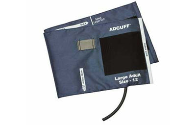 American Diagnostic Corporation ADC Adcuff 845 Series Large Adult Gray Cuff & Bladder, 1 Tube