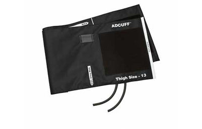 American Diagnostic Corporation ADC 845 Series Adcuff Thigh Black Cuff & Bladder, 2 Tube