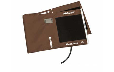 American Diagnostic Corporation ADC Adcuff 845 Series Thigh Brown Cuff & Bladder, 1 Tube
