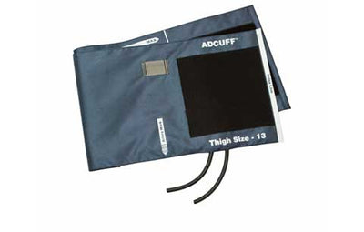 American Diagnostic Corporation ADC 845 Series Adcuff Thigh Navy Cuff & Bladder, 2 Tube