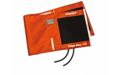 American Diagnostic Corporation ADC 845 Series Adcuff Thigh Orange Cuff & Bladder, 2 Tube