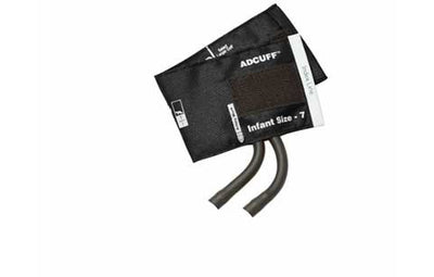American Diagnostic Corporation ADC 845 Series Adcuff Infant Black Cuff & Bladder, 2 Tube