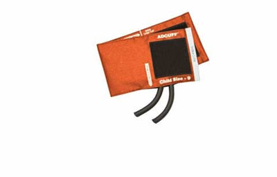 American Diagnostic Corporation ADC 845 Series Adcuff Child Orange Cuff & Bladder, 2 Tube
