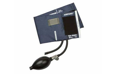 American Diagnostic Corporation ADC Small Adult (19-27 cm) Navy Adcuff Sphyg Inflation System