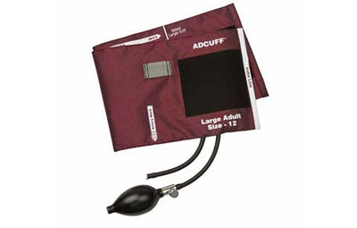 American Diagnostic Corporation ADC Large Adult (34-50 cm) Burgandy Adcuff Sphyg Inflation System