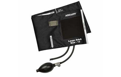 American Diagnostic Corporation ADC Large Adult (34-50 cm) Black Adcuff Sphyg Inflation System
