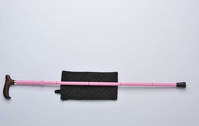 Derby Handle Slim Line Cane - Pink by Alex Medical Products