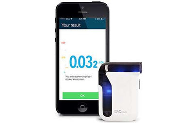 BACtrack Mobile Smartphone Breathalyzer for iPhone & Android Devices