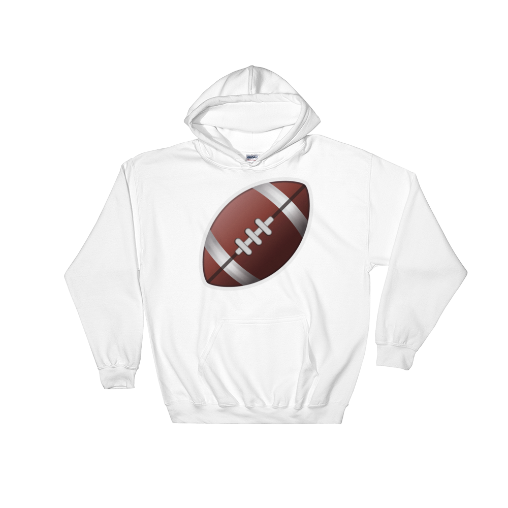 Emoji Hoodie - American Football-Just Emoji