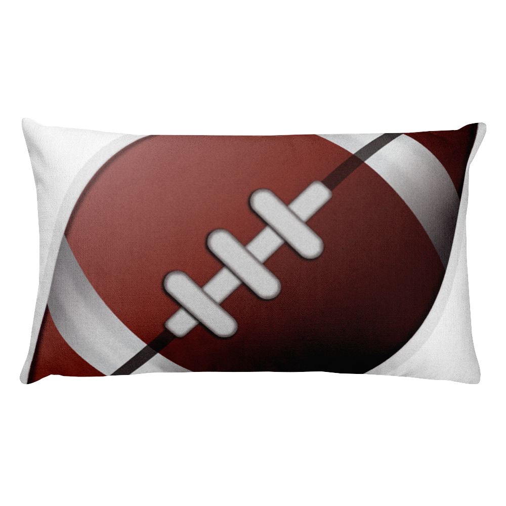 Emoji Bed Pillow - American Football-Just Emoji