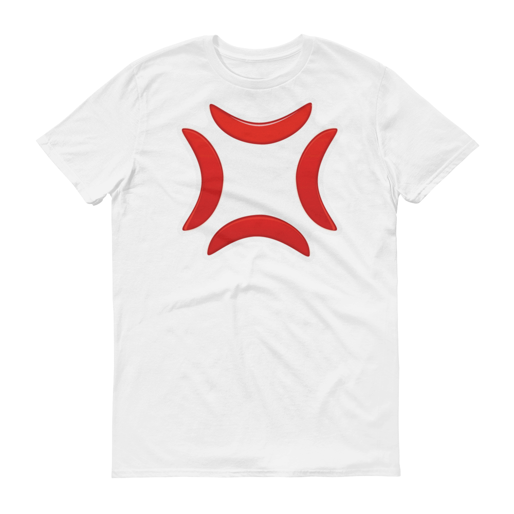 Men's Emoji T-Shirt - Anger Symbol-Just Emoji