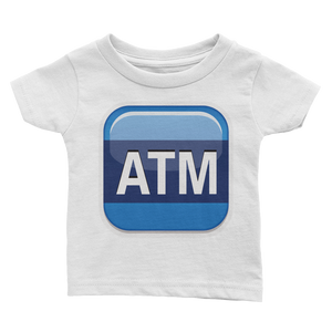 Emoji Baby T-Shirt - Automated Teller Machine-Just Emoji