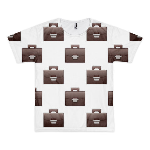 All Over Emoji T-Shirt - Briefcase-Just Emoji