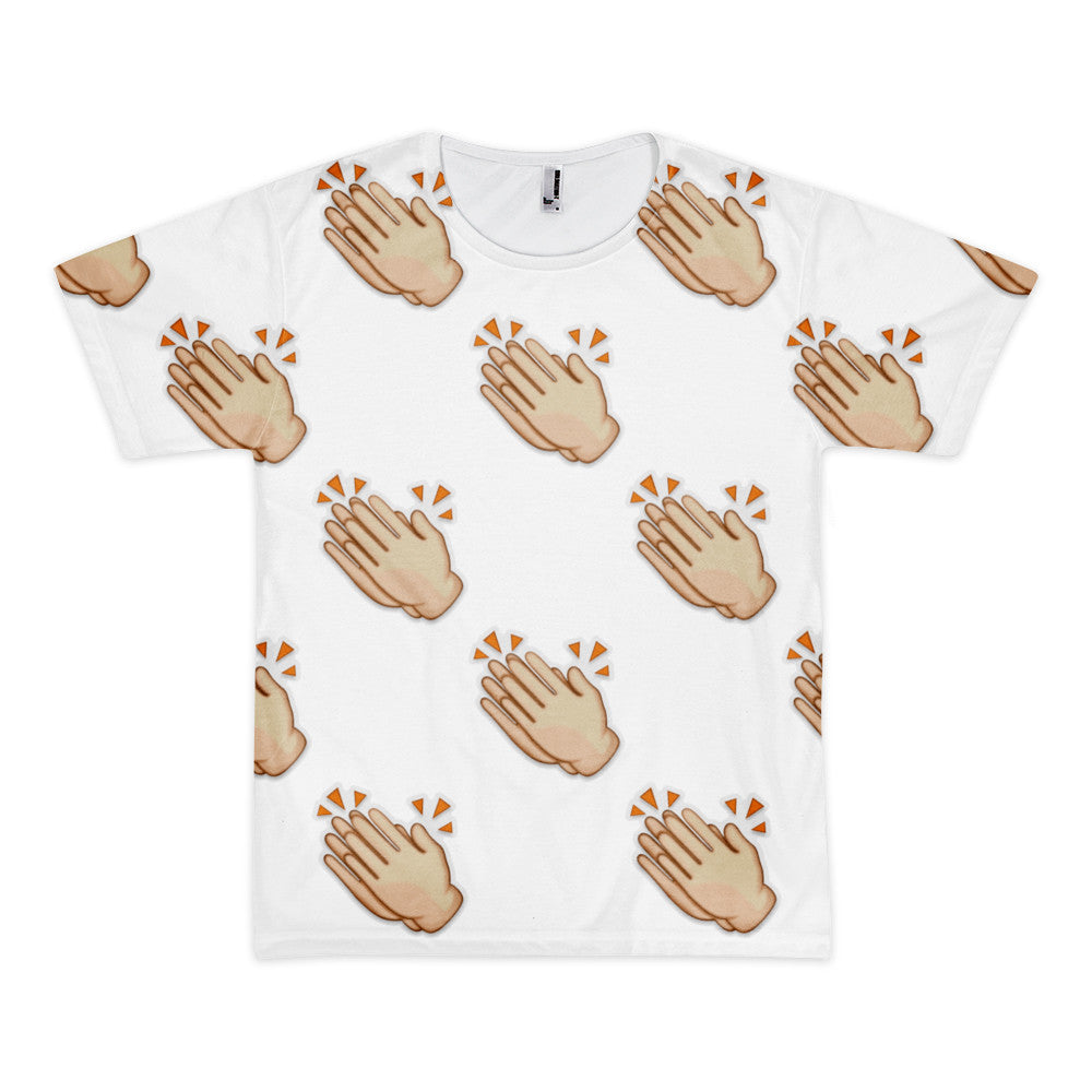 All Over Emoji T-Shirt - Clapping Hands Sign-Just Emoji