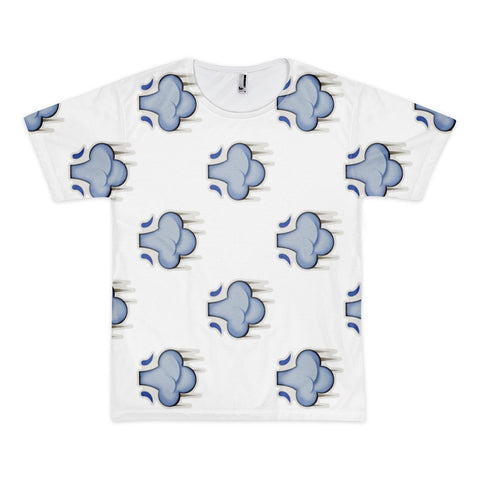 All Over Emoji T-Shirt - Dash Symbol-Just Emoji