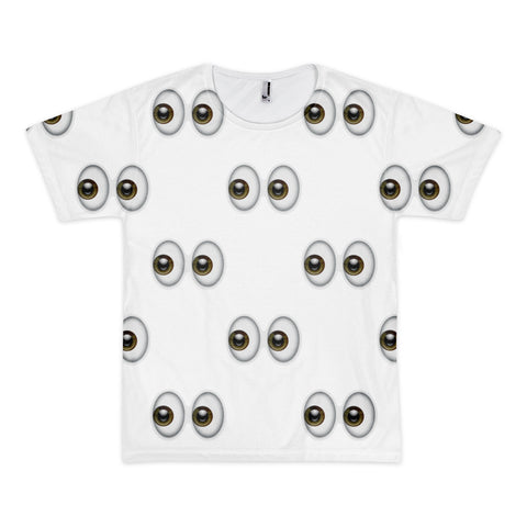 All Over Emoji T-Shirt - Eyes-Just Emoji