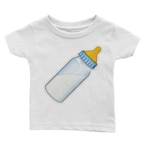 Emoji Baby T-Shirt - Baby Bottle-Just Emoji