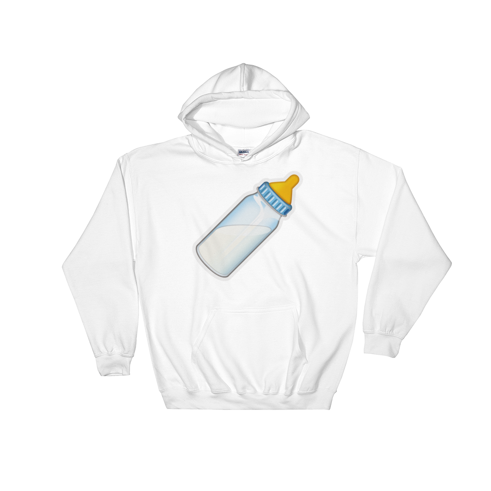 Emoji Hoodie - Baby Bottle-Just Emoji
