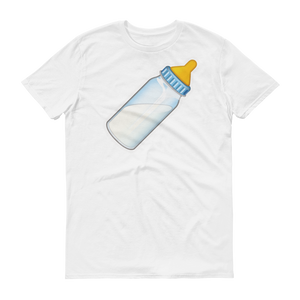 Men's Emoji T-Shirt - Baby Bottle-Just Emoji
