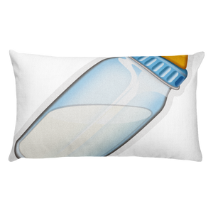 Emoji Bed Pillow - Baby Bottle-Just Emoji