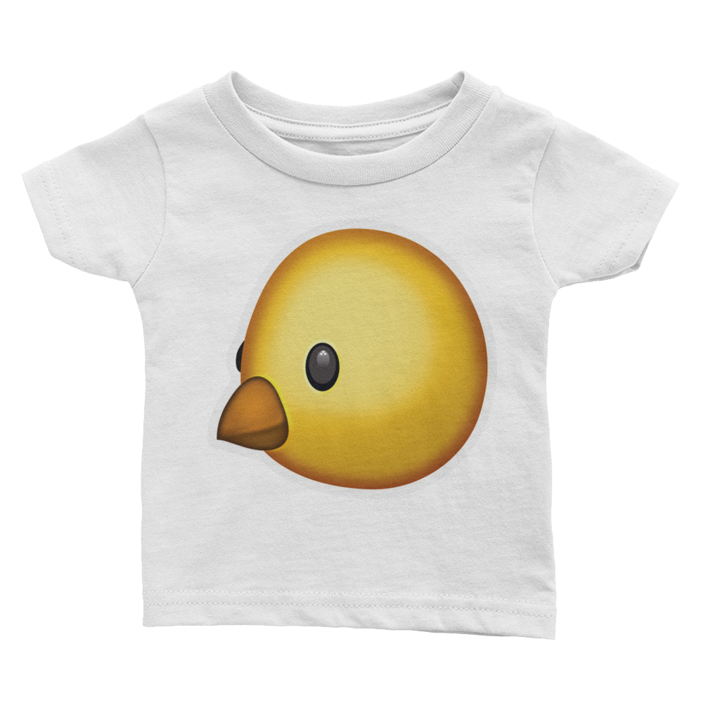 Emoji Baby T-Shirt - Baby Chick-Just Emoji