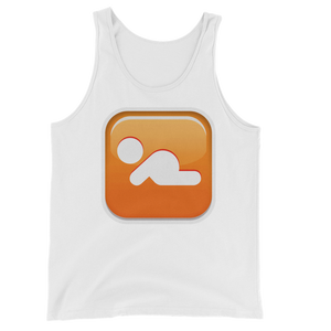 Men's Emoji Tank Top - Baby Symbol-Just Emoji