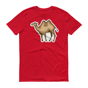 Men's Emoji T-Shirt - Bactrian Camel-Just Emoji
