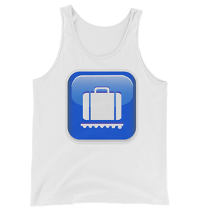 Men's Emoji Tank Top - Baggage Claim-Just Emoji