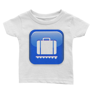 Emoji Baby T-Shirt - Baggage Claim-Just Emoji