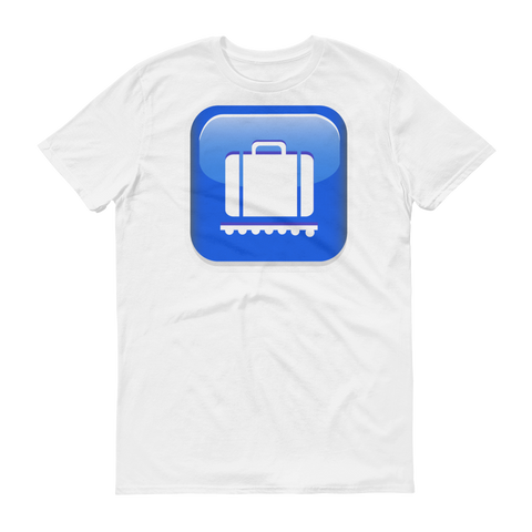 Men's Emoji T-Shirt - Baggage Claim-Just Emoji