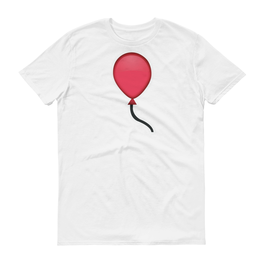 Men's Emoji T-Shirt - Balloon-Just Emoji