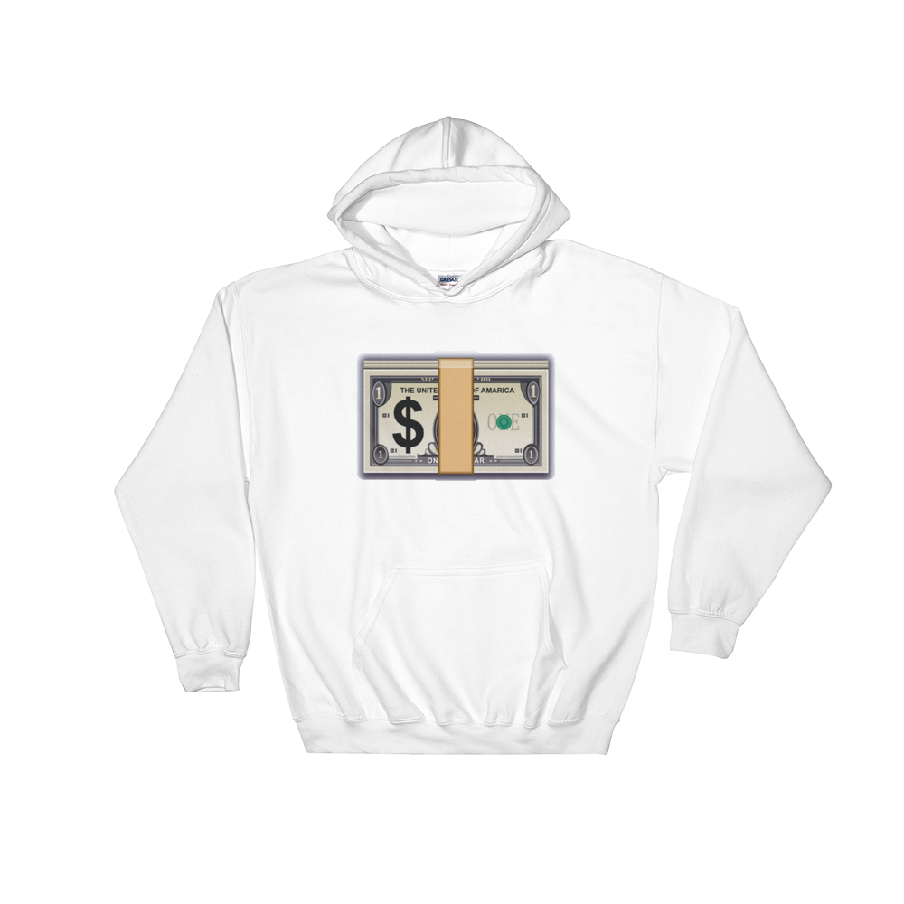 Emoji Hoodie - Banknote With Dollar Sign-Just Emoji