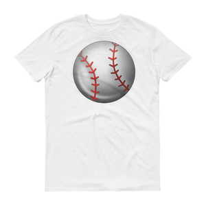 Men's Emoji T-Shirt - Baseball-Just Emoji