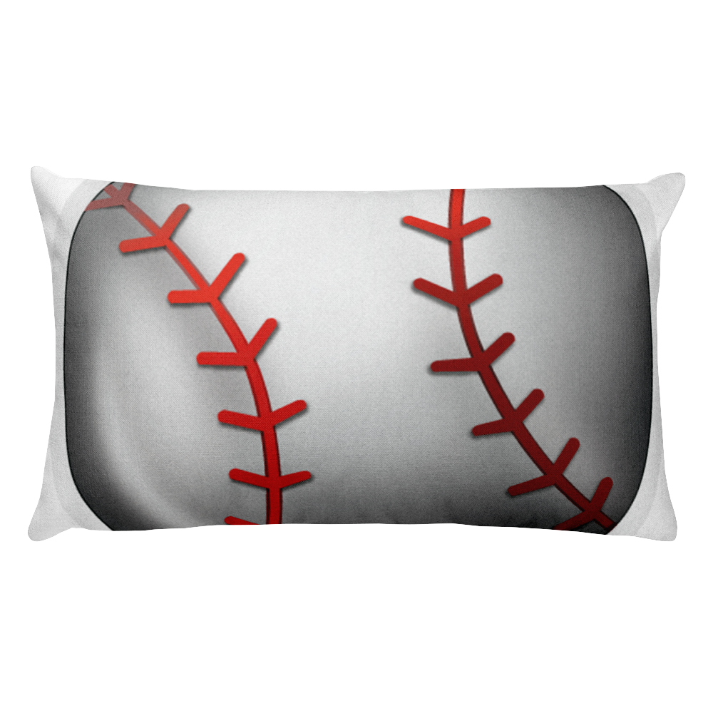 Emoji Bed Pillow - Baseball-Just Emoji