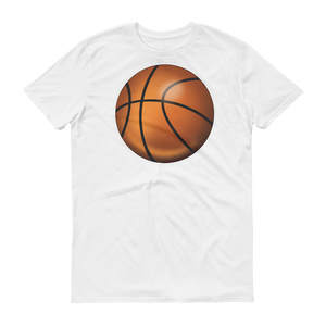 Men's Emoji T-Shirt - Basketball-Just Emoji