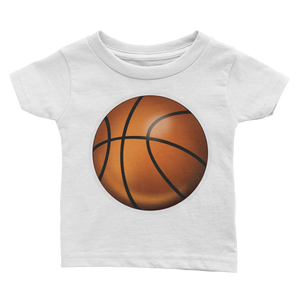 Emoji Baby T-Shirt - Basketball-Just Emoji
