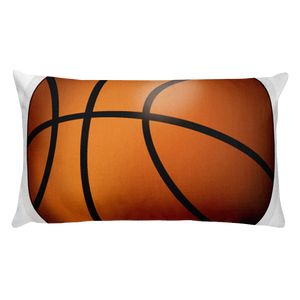 Emoji Bed Pillow - Basketball-Just Emoji