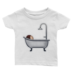 Emoji Baby T-Shirt - Bath-Just Emoji