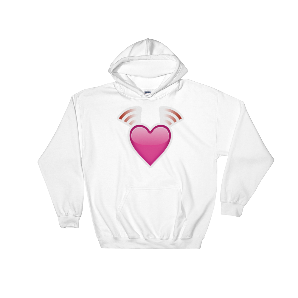 Emoji Hoodie - Beating Heart-Just Emoji