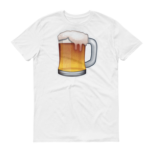 Men's Emoji T-Shirt - Beer Mug-Just Emoji