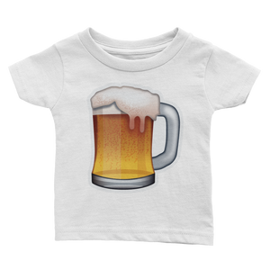 Emoji Baby T-Shirt - Beer Mug-Just Emoji