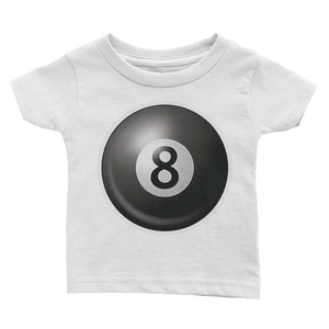 Emoji Baby T-Shirt - Billiards-Just Emoji