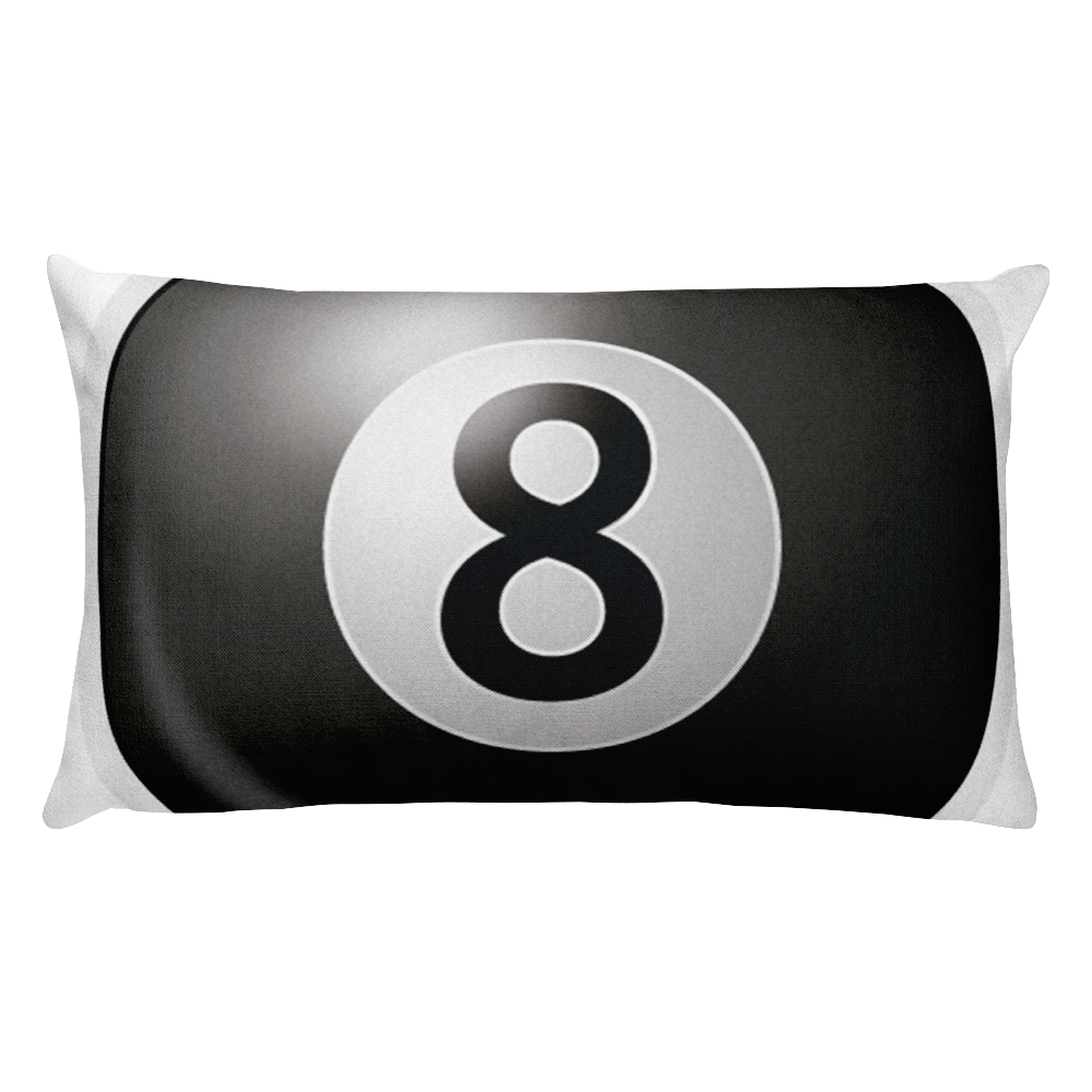 Emoji Bed Pillow - Billiards-Just Emoji