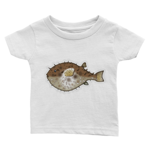 Emoji Baby T-Shirt - Blowfish-Just Emoji