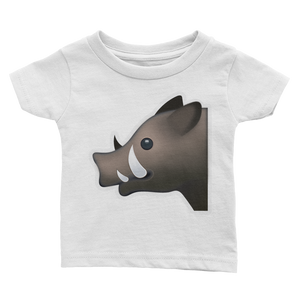 Emoji Baby T-Shirt - Boar-Just Emoji