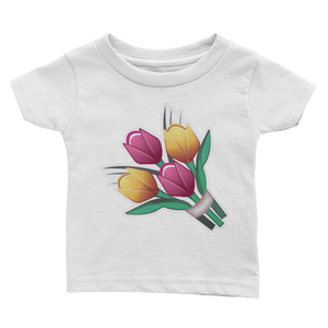 Emoji Baby T-Shirt - Bouquet-Just Emoji