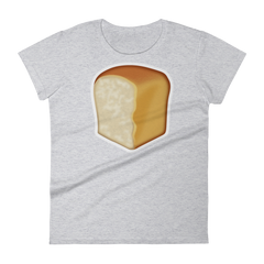 Women's Emoji T-Shirt - Bread-Just Emoji