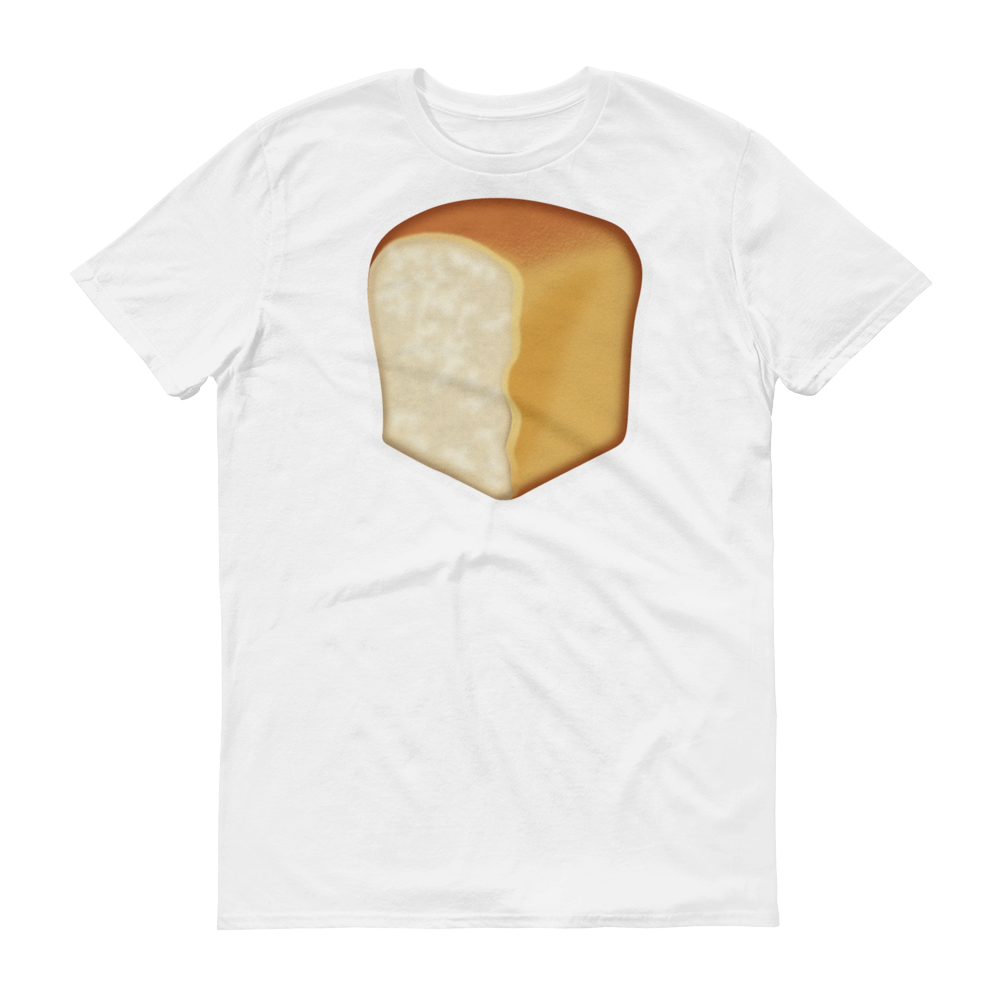 Men's Emoji T-Shirt - Bread-Just Emoji