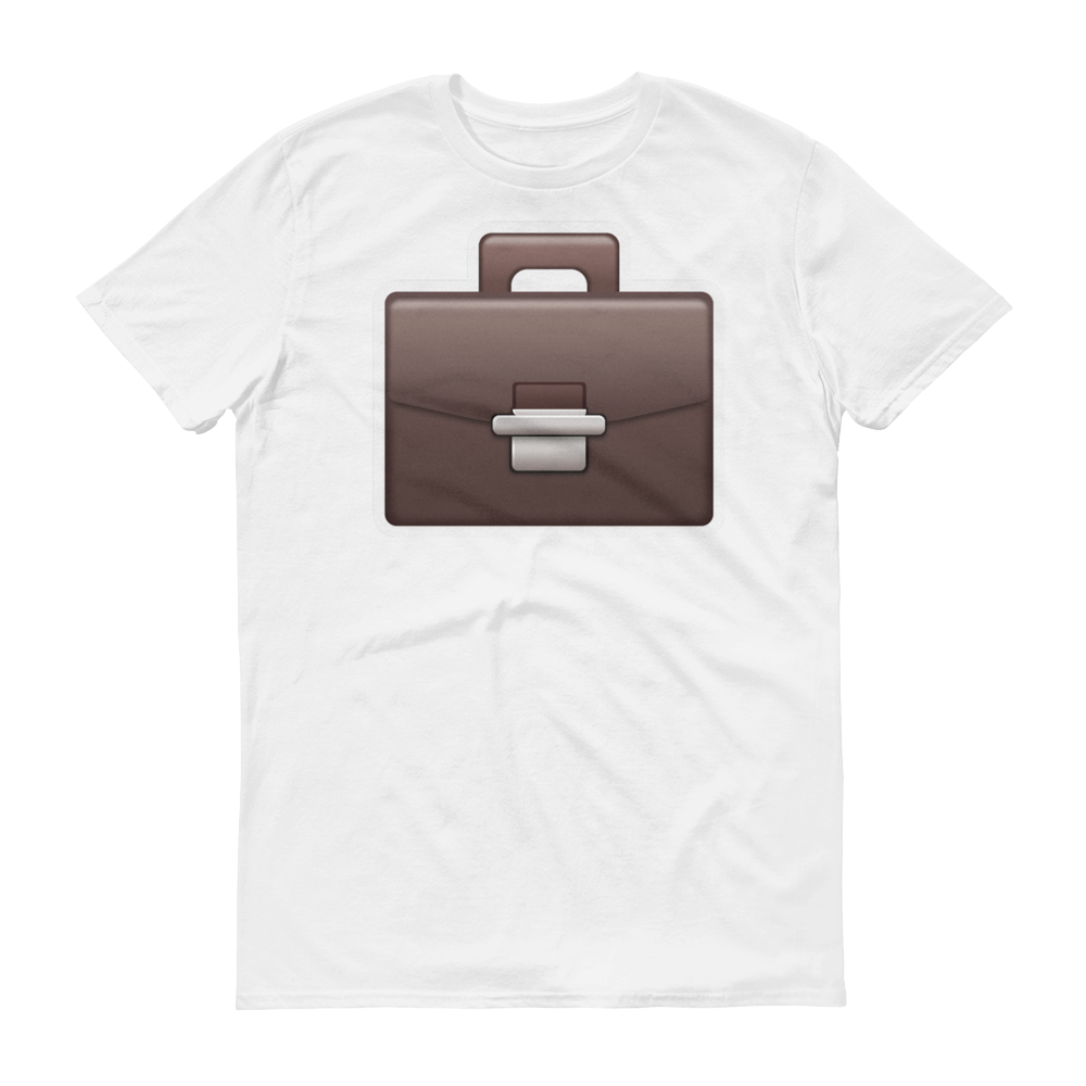 Men's Emoji T-Shirt - Briefcase-Just Emoji